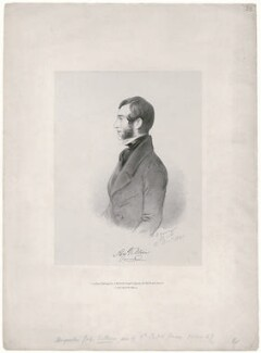 Augustus Villiers, by Richard James Lane, printed by  C. Graf, published by  John Mitchell, after  Alfred, Count D'Orsay - NPG D46305