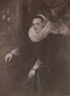 Margareta Snyders (née de Vos), by Robert Howlett, after  Sir Anthony van Dyck - NPG x199776