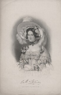 Catherine (née Pollok), Lady Stepney, by Samuel Freeman, published by  Henry Colburn, after  Alfred Edward Chalon - NPG D47477