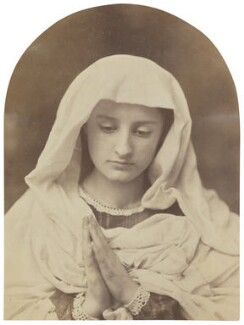 'The Virgin in prayer', by Oscar Gustav Rejlander - NPG x199781