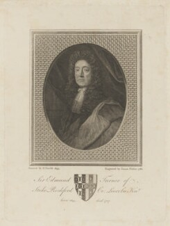 Sir Edmund Turnor, by James Fittler, after  Herman Verelst - NPG D47478