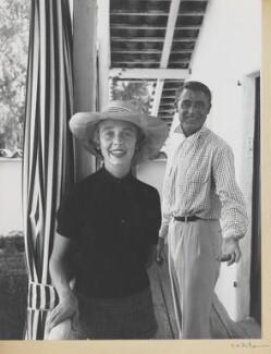 Betsy Drake; Cary Grant, by Sanford H. Roth - NPG x199797