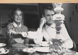 Betsy Drake; Cary Grant, by Sanford H. Roth - NPG x199798
