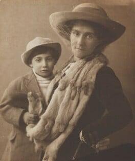 Gilbert Adams; Lily Maud Adams (née Farr), by Marcus Adams - NPG x199821