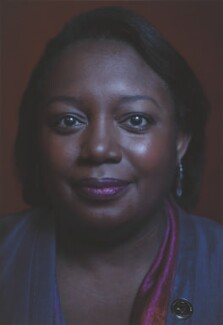 Malorie Blackman, by Simon Frederick - NPG P2044