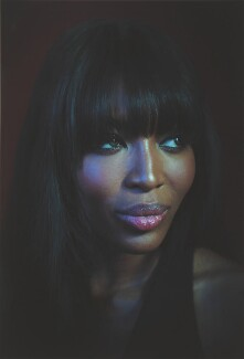 Naomi Campbell, by Simon Frederick, 2016 - NPG  - © Simon Frederick / National Portrait Gallery
