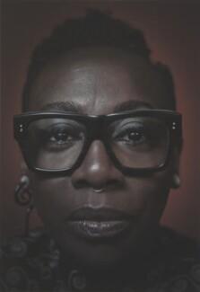 Gina Yashere, by Simon Frederick - NPG P2050