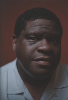 Gary Younge, by Simon Frederick - NPG P2068