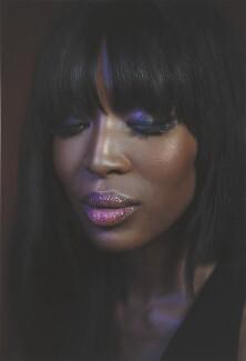 Naomi Campbell, by Simon Frederick - NPG P2036