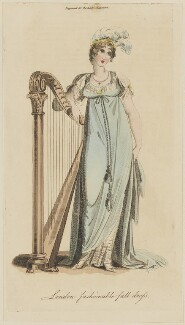 'London fashionable full dress', June 1805, published in The Lady's Magazine - NPG D47530