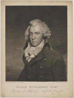 Joseph Richardson, by Sir William John Newton, after  Sir Martin Archer Shee - NPG D48077