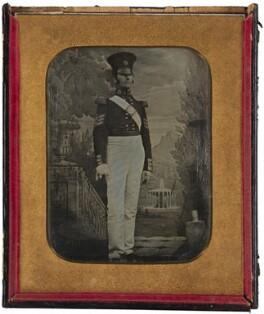 'Sergeant Major in the Coldstream Guards', by Antoine Claudet - NPG x199971