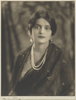 Indira Devi, Maharani of Cooch Behar, by Bertram Park, circa 1920 - NPG  - © estate of Bertram Park / Camera Press