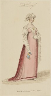'Full Dress', February 1809, published by John Bell, published in  La Belle Assemblée or Bell's Court and Fashionable Magazine - NPG D47541