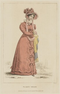 'Walking Dress', November 1826, by William Read, published by  George Byrom Whittaker, published in  La Belle Assemblée or Bell's Court and Fashionable Magazine - NPG D47582