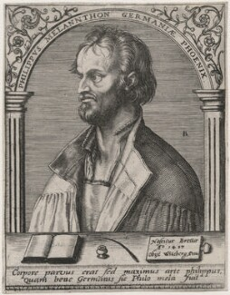Philipp Melanchthon, by Robert Boissard, after  Albrecht Dürer - NPG D48079