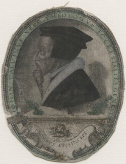 John Calvin, by Pierre Woeiriot - NPG D48080