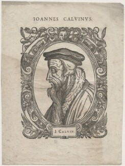 John Calvin, by Unknown artist - NPG D48083