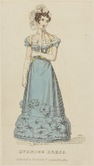 'Evening Dress', February 1825, published by J. Robins & Co, published in  The Ladies' Pocket Magazine - NPG D47563