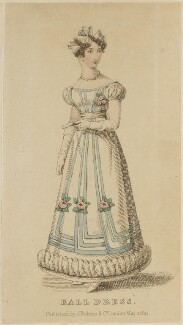 'Ball Dress', May 1825, published by J. Robins & Co, published in  The Ladies' Pocket Magazine - NPG D47566