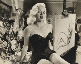 Diana Dors, by Harry George Gillard ('Gill') - NPG x199710