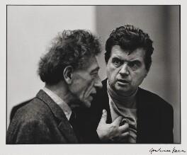 Alberto Giacometti; Francis Bacon, by Graham Keen - NPG x199752