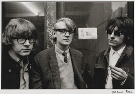 Peter Asher; Barry Miles; John Dunbar, by Graham Keen - NPG x199758