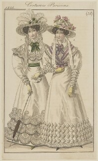 'Costumes Parisiens', number 35, published in Le Journal des Dames et des Modes - NPG D47572