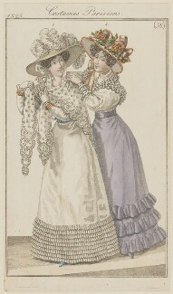 'Costumes Parisiens', number 38, published in Le Journal des Dames et des Modes - NPG D47574