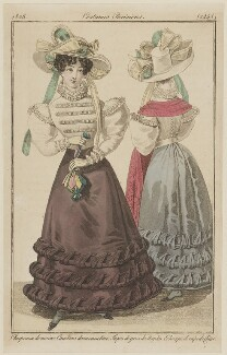 'Costumes Parisiens', number 2448, published in Le Journal des Dames et des Modes - NPG D47584