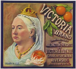 Queen Victoria, printed by Schmidt Lithography Company - NPG D48086