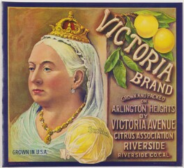 Queen Victoria, printed by Schmidt Lithography Company - NPG D48087