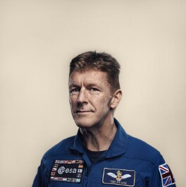 Tim Peake, by Sam Barker - NPG x199982