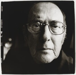 Harold Pinter, by Julian Anderson - NPG x199742