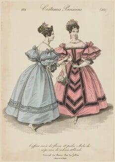 'Costumes Parisiens', number 3174, after Louis Marie Lanté, published in  Le Journal des Dames et des Modes - NPG D47670