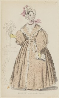 'London Morning Dress', May 1836, published by Joseph Robins, published in  The Ladies' Pocket Magazine - NPG D47685
