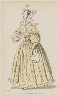 'London Morning Dress', July 1836, published by Joseph Robins, published in  The Ladies' Pocket Magazine - NPG D47691
