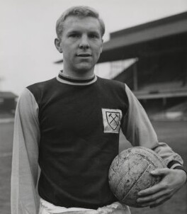 Bobby Moore, by Unknown photographer - NPG x199763