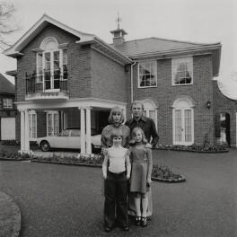 Christina Elizabeth ('Tina') Moore (née Dean); Dean Moore; Bobby Moore; Roberta Moore, by Terry O'Neill - NPG x199767