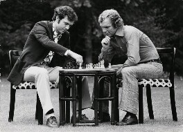 Franz Anton Beckenbauer; Bobby Moore, by Terry O'Neill - NPG x199770