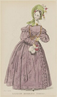'London Morning Dress', November 1836, published by Joseph Robins, published in  The Ladies' Pocket Magazine - NPG D47692