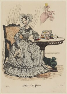 'Modes de Paris', 1837, published in Petit Courrier des Dames, Journal des Modes - NPG D47720