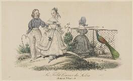 Children's costume, summer 1837, published in Le Follet, Courrier des Salons, Journal des Modes - NPG D47731