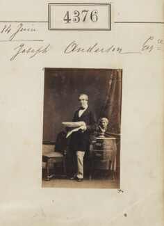 Joseph Anderson, by Camille Silvy - NPG Ax54389