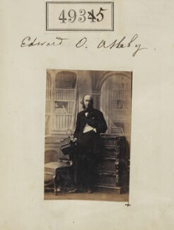Edward Quenby Ashby, by Camille Silvy - NPG Ax54943