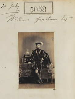 William Graham, by Camille Silvy - NPG Ax55063