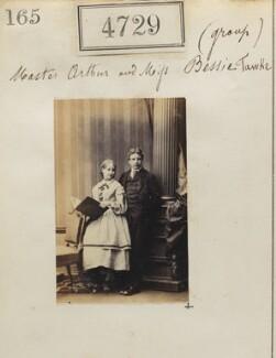 Arthur Christian Tawke; Bessie Tawke, by Camille Silvy - NPG Ax54740