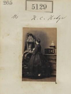 H.C. Hodge, by Camille Silvy - NPG Ax55132