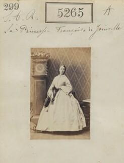 Princess Françoise Marie Amélie d'Orléans, Duchess of Chartres, by Camille Silvy - NPG Ax53302