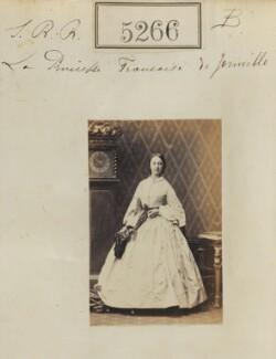 Princess Françoise Marie Amélie d'Orléans, Duchess of Chartres, by Camille Silvy - NPG Ax53303